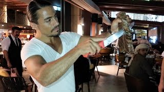 NUSRET STEAKHOUSE - THE TURKISH #SALTBAE