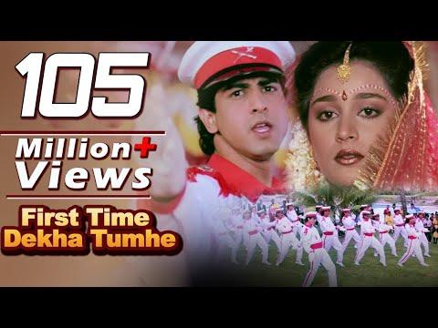 Xxx Mp4 First Time Dekha Tumhe Hum 4K Video Songs Jaan Tere Naam Kumar Sanu Ronit Roy 3gp Sex
