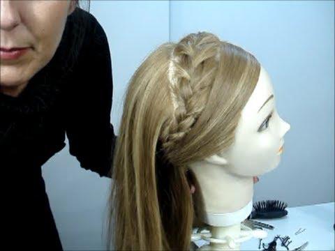Trenza francesa diadema invertida french braid video 3 vidoemo emotional video unity - Peinado con trenza ...