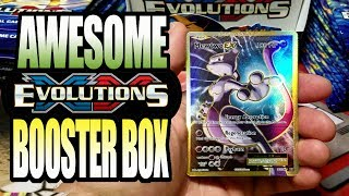 LOST POKEMON FOOTAGE! XY EVOLUTIONS BOOSTER BOX OPENING *MUSIC* MEGA CHARIZARD EX!