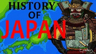 History of Japan explained in eight minutes (all periods of Japanese history documentary)