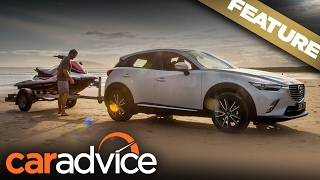 2017 Mazda CX-3 and Yamaha EX Deluxe: The perfect match? | A CarAdvice Feature