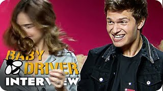 BABY DRIVER Interview - Car Wrecks & Driving Tunes