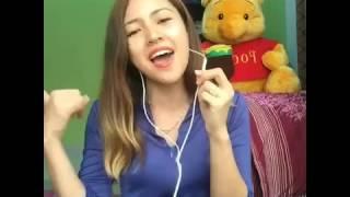 baby shima tak sabar cover on sing smule karaoke by gsb shima