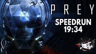Prey (2017) Speedrun in 19:34