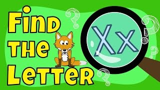 Alphabet Games | Find the Letter X