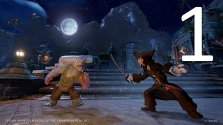 Disney Infinity - Pirates of the Caribbean Play Set part 1 (Movie) (Story) (No Commentary)