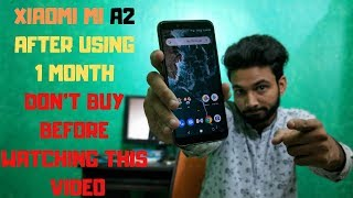MI A2 After Using 1 Month Don