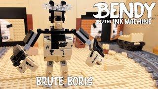 Brute Boris Battle Lego Bendy and the Ink Machine 4