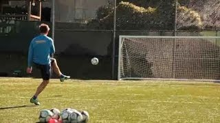 How to Improve Your Long-Range Shooting   Soccer Lessons