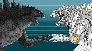 Кинг Конг против Годзиллы 4 - Мехагодзилла / King Kong vs. Godzilla - Mechagodzilla