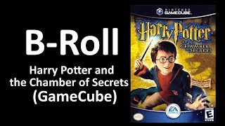 B-ROLL: Harry Potter and the Chamber of Secrets (GameCube)