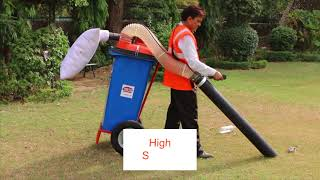 Vacuum Garbage / Litter Collector - Made in India