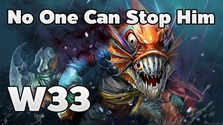 W33 Plays Slark No One Can Stop Him Ranked Match - Dota 2 RedArchon