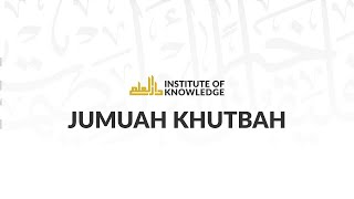 "Ustadh Abdelrahman Murphy | ""The Proof of Love"" | IOK Khutbah 5/31/2013"