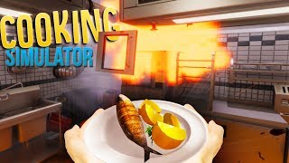 I Exploded The Stove!? - Becoming A Master Chef - Cooking Simulator Gameplay Part 1