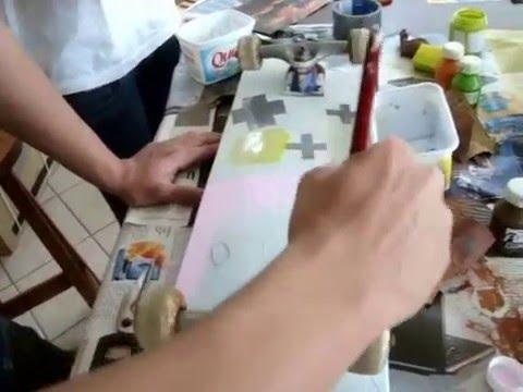 Pintando Skates