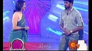 Sujex dance in sun tv with Swathika