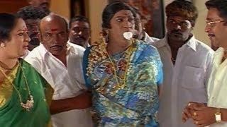 Vadivelu dresses as a lady and saves Anuya - Nagaram