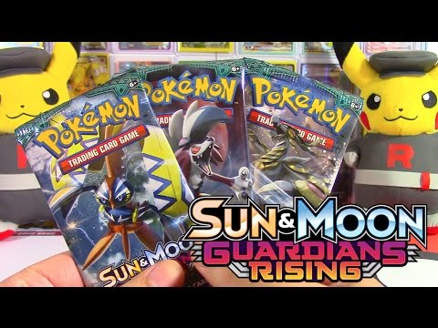 GUARDIANS RISING POKEMON TCG BOOSTER PACK OPENING