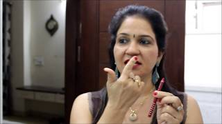 PERFECT STYLE of Applying Lipstick | Tips for Beautiful lips | Lipstick Tutorial in Hindi