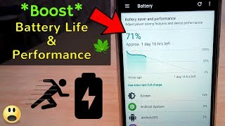 Boost Your Battery Life & Android Performance(Latest Working 2017)   How To setup Greenify App