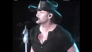 TIM McGraw Red Rag Top 2009 LiVe