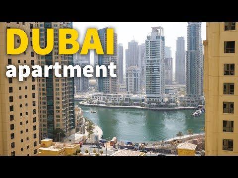 Living in Dubai DUBAI APARTMENT TOUR UAE Accommodation for 106 Per Night