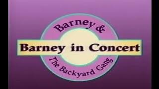 Barney In Concert Play Along LIVE!