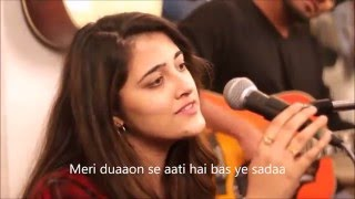 JANAM JANAM With LYRICS – Cover by Nupur Sanon ft. Twin Strings