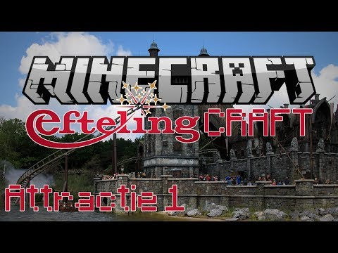 Minecraft EftelingCraft - De Vliegende Hollander - Attractie 1