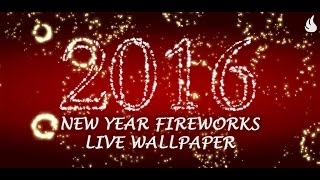 New Year Fireworks Live Wallpaper