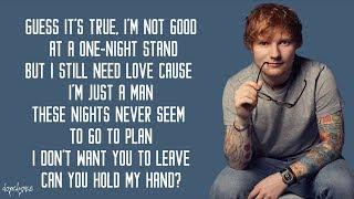 Ed Sheeran - Stay With Me (Lyrics)