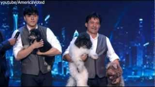The Olate Dogs - America's Got Talent-Semi-Finals 2012 AGT