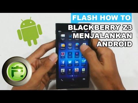 BlackBerry Z3 Menjalankan Aplikasi Android - Flash Gadget Store Indonesia