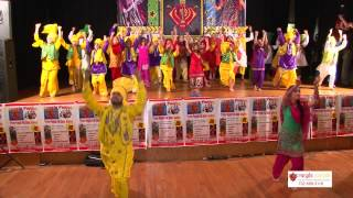 First Performance by Little Kids at Rangla Punjab Academy Diwali Mela 2014