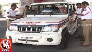 People In Panic With ORR Accident's | Hyderabad | V6 News