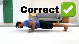 Push-Up Tutorial: How To Do a Perfect Push-Up