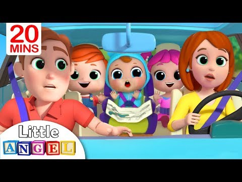 Are We There Yet Going to the Toy Store Nursery Rhyme by Little Angel