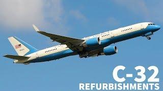 USAF C-32 Gets $34 MILLION Makeover