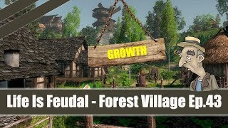 ★ Life Is Feudal: Forest Village ★ Let's Play / Gameplay Part 43 GROWTH
