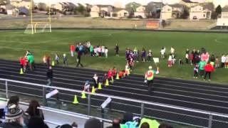 kids track 50 meter dash chamorra cooper lane 2 1st race 5yrs old