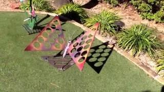 recycled garden art ideas scrap metal sculpture projects by Raymond Guest