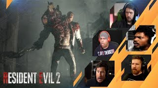 Gamers Reactions to William Birkin | Resident Evil 2 Remake