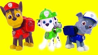 Nick Jr PAW Patrol Color Mix-Up Rare Toy Game Finger Family Kids Nursery Rhymes