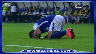 هدف الهلال الثالث على الفتح عن طريق عمر خربين - الدوري السعودي للمحترفين ج26
