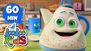 I'm a Little Teapot - Educational Songs for Children | LooLoo Kids