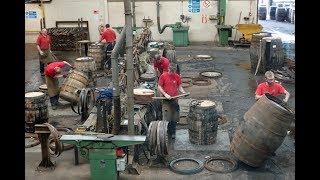 Kentucky Bourbon Aids Scotch Whisky at a Sweaty Cooperage