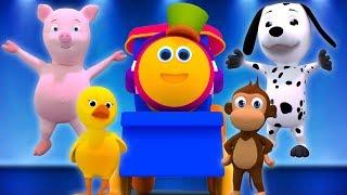 Bob, il treno | Animal Sounds Canzone | Bob The Train | Learn Animal Sound