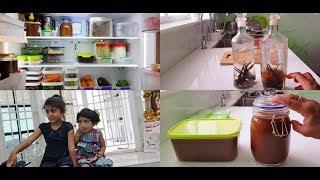 Tuesday Vlog - Homemade Vanilla Extract - Stocking Indian Freezer Staples - YUMMY TUMMY VLOG